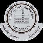 Medalla de Plata, añada 2009, Concours Mondial de Bruxelles 2.013, Bélgica