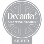 Silver Medal, vintage  2.008, Decanter Asia Wine Awards 2.015, Hong Kong