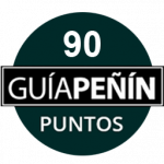 90 points, vintage 2009. Guía Peñín 2018, Spain