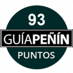 93 points, vintage 2010. Guía Peñín 2018, Spain.