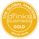 "Medalla de Oro, añada 2012, ""Rioja Masters 2019"" The Drinks Business"